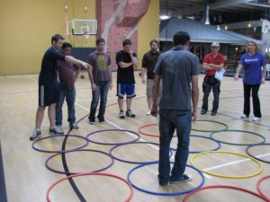 team building projects magician